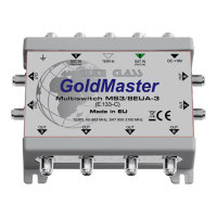 Мультисвитч GoldMaster MS3/8EUA-3