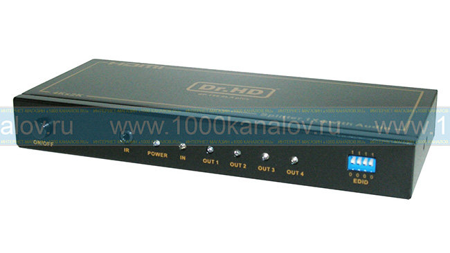 HDMI сплиттер Dr.HD SP 144 SLA Plus (1x4)